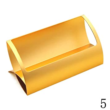 Blue Vessel Aluminium Visitenkartenhalter Destop Business Card Holder Gold