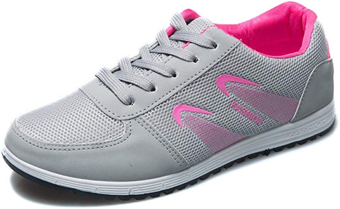 Zapatillas de Deporte para Mujer, Zapatos Sencillos de Malla ...