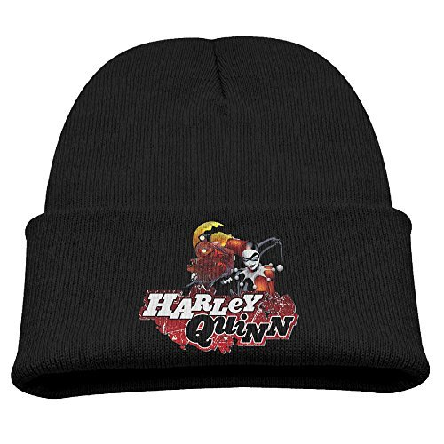 Beanie Hat Harley Quinn Crazy Train Trendy Soft Child - Injustice Harley Quinn Costumes