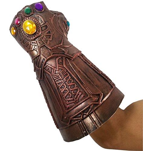 baellerry Halloween Costume Infinity War Thanos Infinity Gauntlet Gloves (Bronze) by baellerry (Image #3)