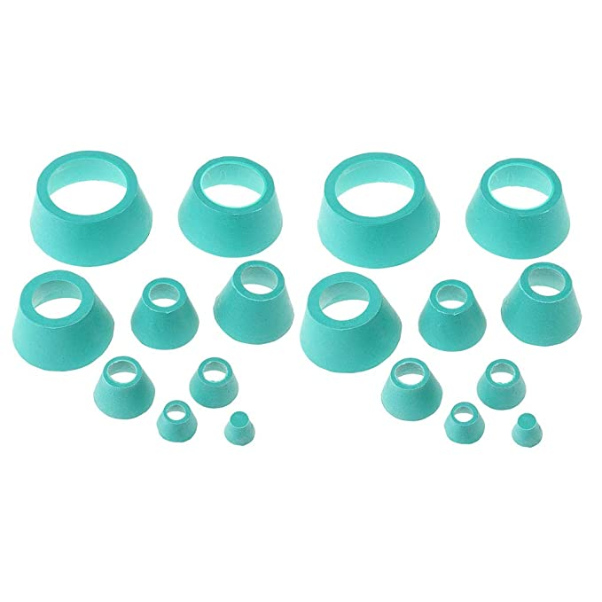 Set de Filtros de Vaso Tapón de Matraz Laboratorio Piezas de ...