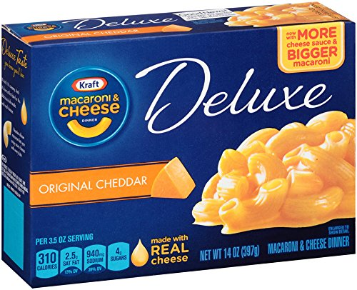 Kraft Mac & Cheese Deluxe Dinner - 14 oz