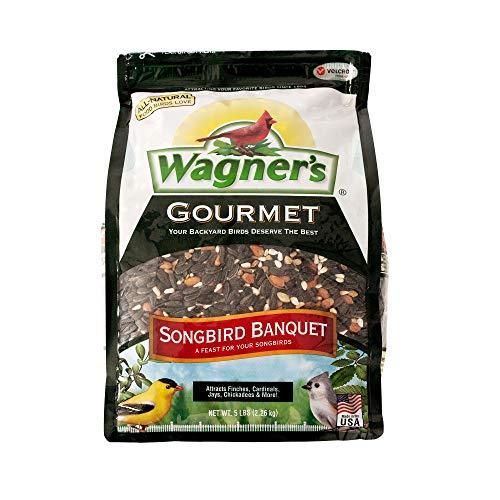 Wagner's 82042 Songbird Banquet Bird Food, 5-Pound Bag