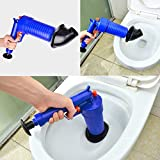 ATUKI |Toilet Plungers|High Pressure Air Exhaust Shockwave Toilet Cleaning Tool Sewer Filter Dredger