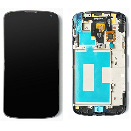 Full LCD display Touch Screen Digitizer Assembly with Frame Replacement For LG E960 Google Nexus 4