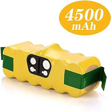 Imagen deReoben Batería de repuesto de 14.4V 4.5Ah Ni-MH para iRobot Roomba Serie 500 510 510 521 530 531 600 605 610 615 616 620 772 774 776 780 800 865 871 875