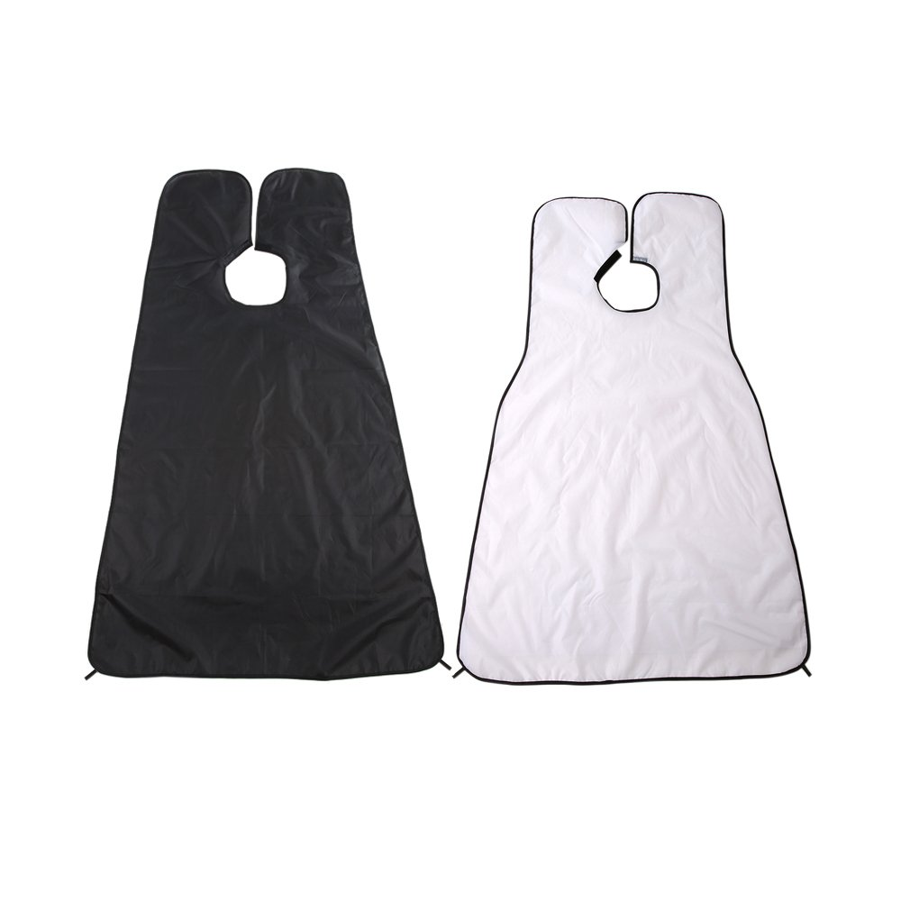 Anself Beard Shaving Apron Barbers Cape with Two Suction Cups W3805B-HMMFBA