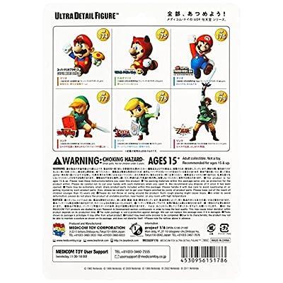 Medicom Nintendo Ultra Detail Figure Series 1: The Legend of Zelda: The Wind Waker Link UDF Action Figure: Toys & Games