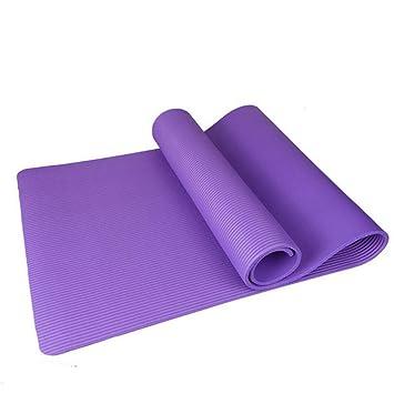 HYTGFR Las esteras Antideslizantes de la Yoga 15Mm para el ...