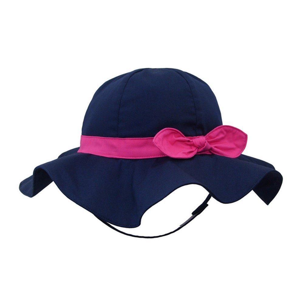 Spring / Summer Cotton Baby Girls 's Outdoor Bowknot Sun Hat /Beach Hat