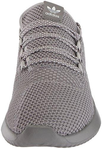Adidas Originali Mens Tubular Shadow Ck Fashion Sneakers Grigio / Grigio / Bianco
