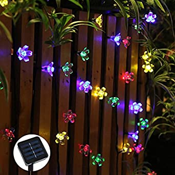 Led Linternas Cadena Jardín Exterior Cuento De Hadas Luces Verano ...