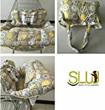 Extra padded, Shopping Cart Cover and High Chair Cover for baby,Provides Protection, Great Quality for Comfort by SLW
