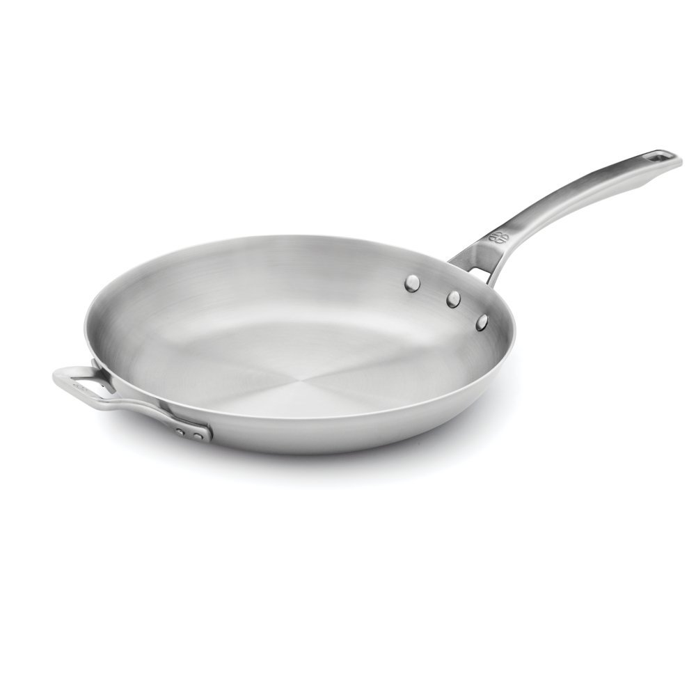 Calphalon 1948233 Signature Stainless Steel Omelet Pan, 12'', Silver by Calphalon
