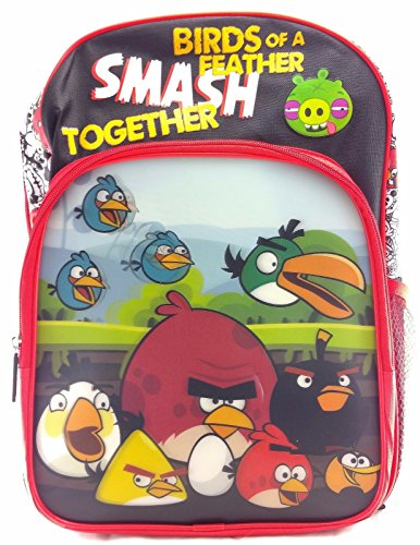 Angry Birds Canvas Backpack Applique