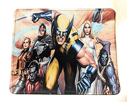 Marvel Comics Mouse pad X-Men Wolverine Emma Frost Cyclops Beast Rogue SuperGifts(7x9