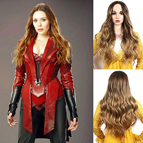 IVY HAIR Scarlet Witch Wanda Maximoff Cosplay Wigs