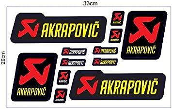 1 Set 12 Aufkleber Jdm Akrapovic Racing Sticker Autocollant Pegatinas Plus Topheads Eyewear Sticker Motocross Bmx Auto Car Bike Jdm Dub Tuning Racing Auto