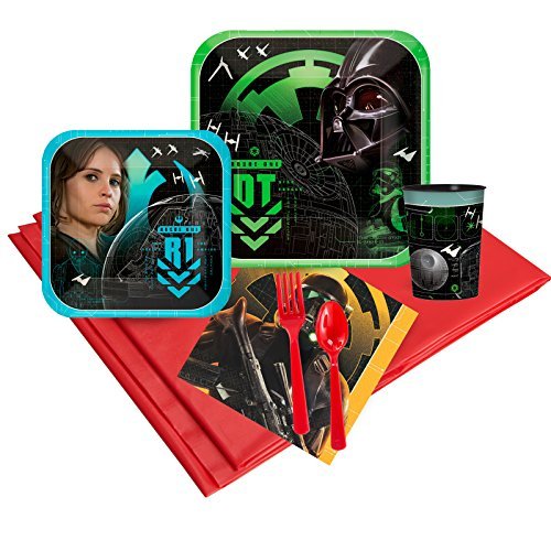 BirthdayExpress Rogue One: A Star Wars Story Party Supplies Party Pack -
