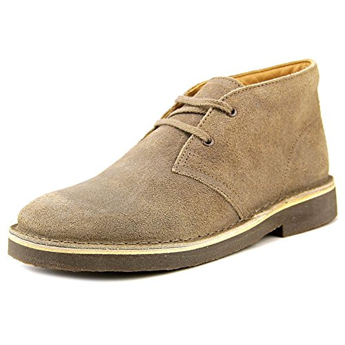 Clarks Boy's Desert Boot Taupe Distressed 3 W