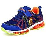 U-MAC Boys Girls Mesh Running Shoes kids Foam Sole Anti-slip Casual Walking Sneakers (Little Kid/Big Kid)