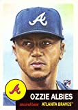 #10: 2018 Topps Living Set #32 Ozzie Albies Baseball Rookie Card Atlanta Braves - Only 14,036 made!