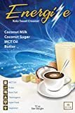 low carb coffee creamer - Energize Premium KETO Sweet Coffee Creamer, 48 Servings, Made From Pasture Fed Butter, MCT Oil, Coconut Milk and Coconut Sugar, Low Carb (Keto Sweet)