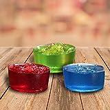 Jolly Rancher Jello: 1 Green Apple, 1 Cherry, 1