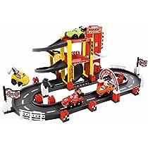 Circuito F1 de 3 alturas con 4 vehículos (Ecoiffier 3042)