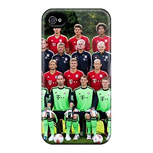 For Jamesler Iphone Protective Case, High Quality For Iphone 4/4s Bayern Munich 2013 Skin Case Cover