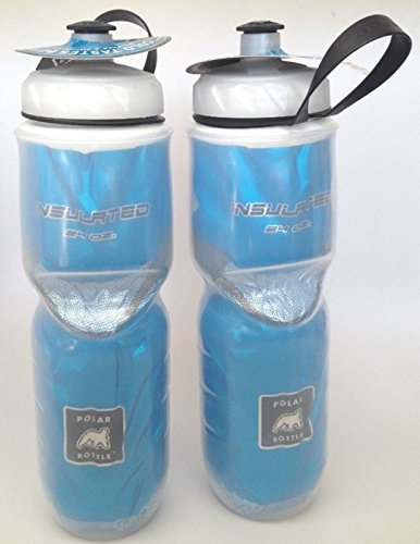 Polar Insulated Blue Pair 24 oz 2-Pack Water Bottle Made in - Bear Cage