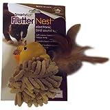 SmartyKat Flutter Nest Cat Toy Electronic Bird-Sound Toy