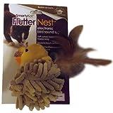SmartyKat FlutterNest Electronic Bird-Sound Cat Toy, My Pet Supplies