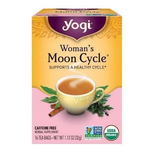 Yogi Raspberry Tea (Yogi Tea Woman'S Moon Cycle, Herbal Supplement, Tea Bags, 16 ct, 2 pk)