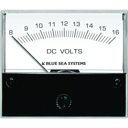 1 - Blue Sea 8003 DC Analog Voltmeter - 2-3/4
