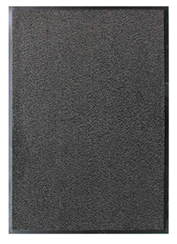 Grey Non Skid Washable Dirt Stopper Kitchen Hallway Mats 1' 4'' x 2' by The Rug House (Image #2)