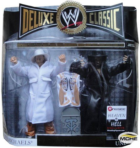 Wwe--deluxe Classic Limited Edition--shawn Michaels Vs Undertaker---super Articulation