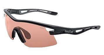 Bollé Vortex - Gafas de sol para hombre Negro brillante/rosa