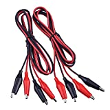 eBoot 2 Groups 1M Test Leads Set with Alligator Clips Double-ended Jumper Wires