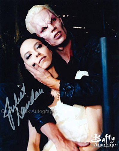 JULIET LANDAU as Drusilla - Angel/Buffy The Vampire Slayer GENUINE AUTOGRAPH from Celebrity Ink