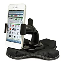 """ChargerCity """"Claw-X"""" NonSlip Smartphone Beanbag Friction Mount for Apple iPhone 6S 6 Plus SE Samsung Galaxy Note 5 S6 S7 Edge LG G4 G5 HTC ONE Sony Xperia MOTO DROID Phone"""