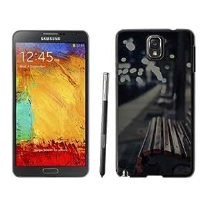 Unique Designed Cover Case For Samsung Galaxy Note 3 N900A N900V N900P N900T With Mf Street Chair Dark Melancholy Night Phone Case