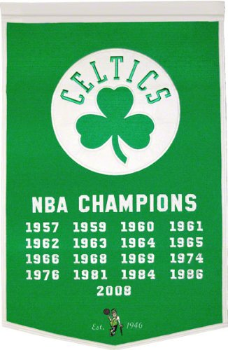 NBA Boston Celtics Dynasty Banner
