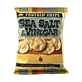 BariatricPal Protein Potato Chips - Sea Salt and Vinegar Crunch (Case of 80)