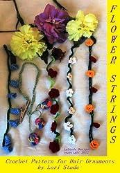 Flower Strings Hair Ornaments Crochet Pattern
