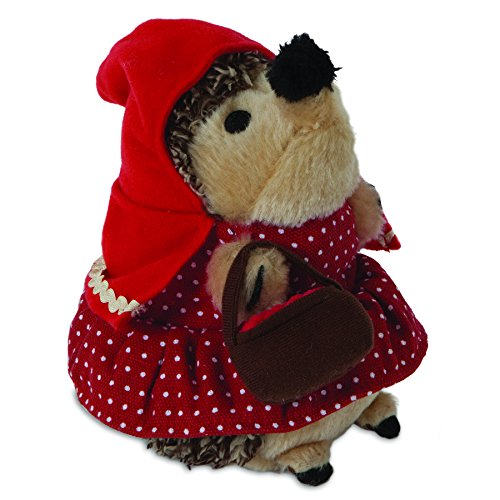 Petmate ZOOBILEE Heggie Little Plush Toy, Red