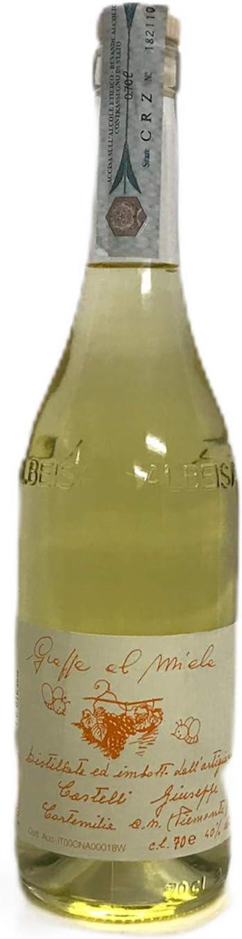 Grappa al miele 1x70cl miel de grappa destilado de orujo e ...