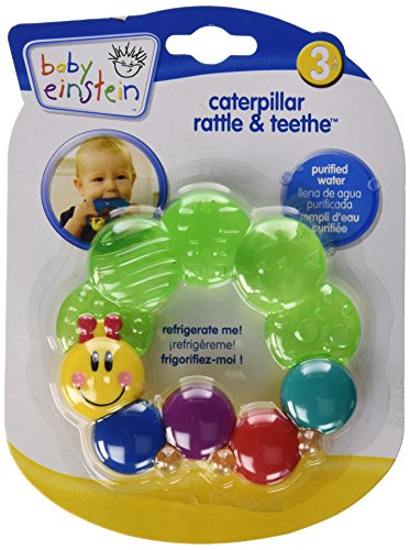 Baby Einstein Rattle and dentition Caterpillar, les couleurs peuvent varier