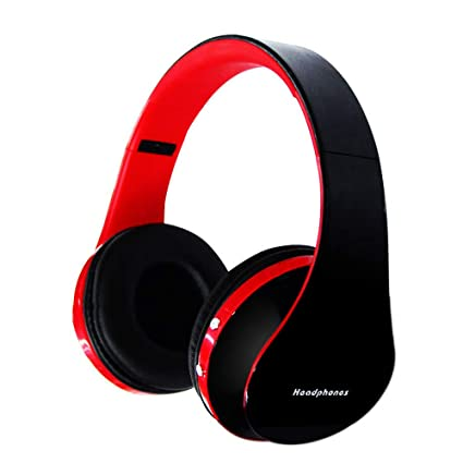 GCCLCF Auriculares Inalámbricos Bluetooth Juego Auriculares Ordenador Universal Mini Plegado Bluetooth,Red