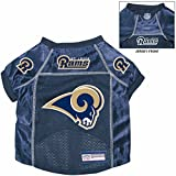St. Louis Rams Pet Dog Football Jersey Alternate MEDIUM